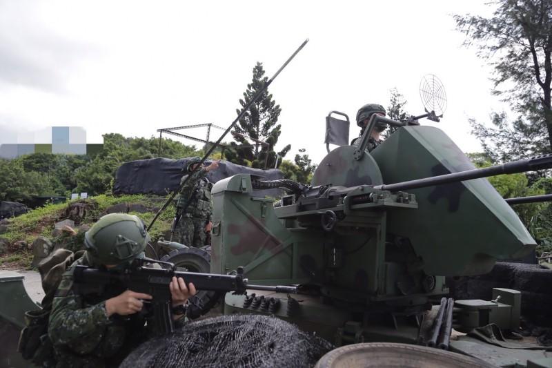 20210914-漢光演習實兵演練第2天,陸軍關渡地區指揮部聯兵一營實施反突擊、反滲透演練。(軍聞社提供)