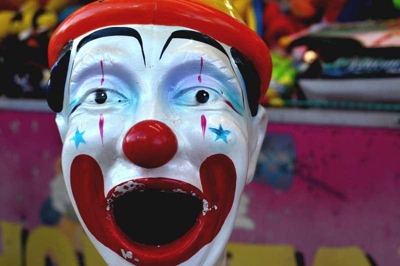 示意圖,小丑(取自Pixabay)