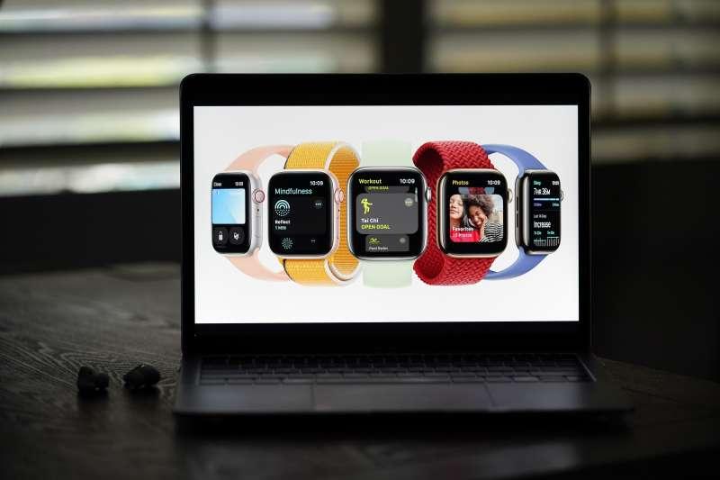 9月14日的蘋果發表會以iPhone13、新款iPad mini最受矚目。Apple Watch Series 7的螢幕則再次升級。(美聯社)