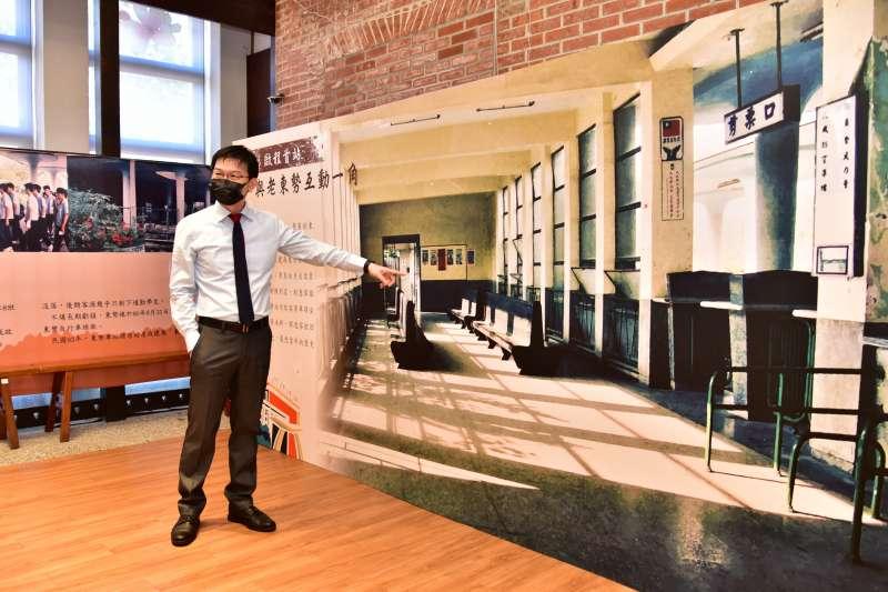 20210915-東勢客家文化園區的沙龍空間就是昔日的車站候車室。(台中市政府客家事務委員會提供)