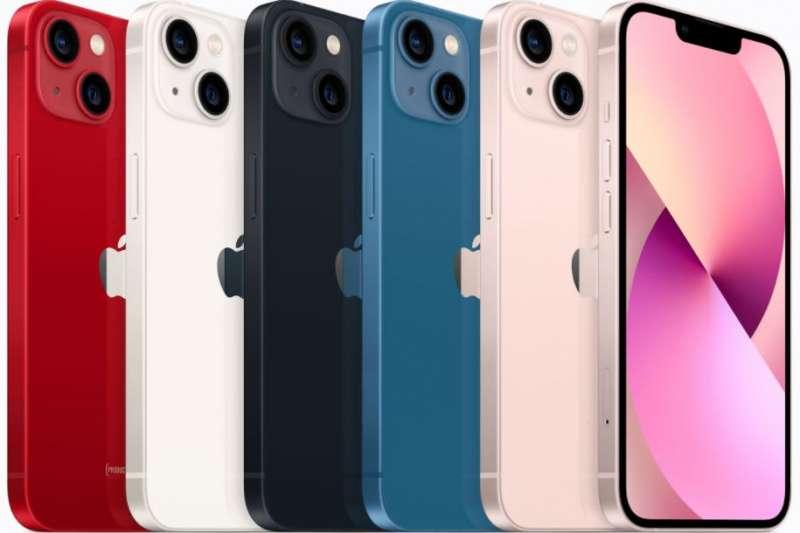 iPhone 13系列將從17日晚上8時開放預訂,9月24日開始發售。(示意圖/取自蘋果官網)