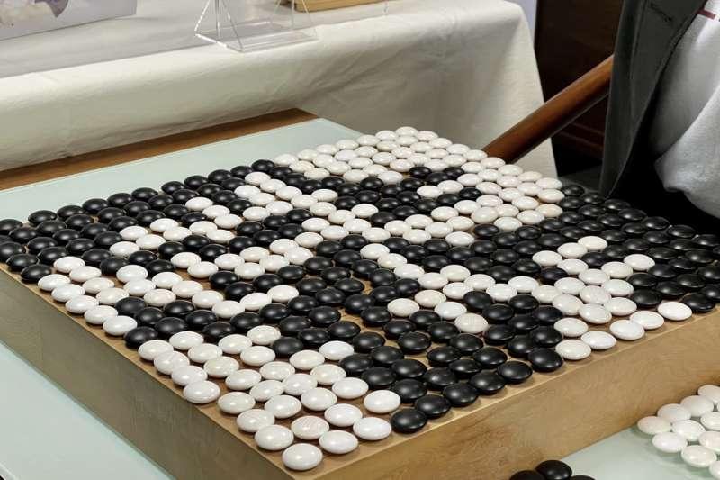 棋盤上有361點,把盤面填滿也就是下361手棋。(海峰棋院)