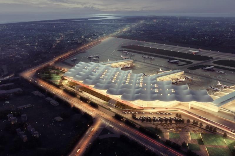 考量高雄國際機場定位及未來發展,行政院正式核定「高雄國際機場2035年整體規劃案」。(圖/高市府提供)