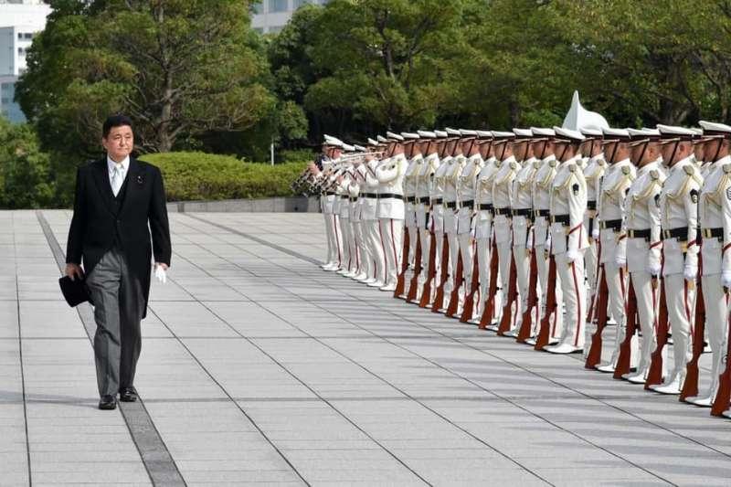 日本防衛大臣岸信夫。(翻攝岸信夫臉書)