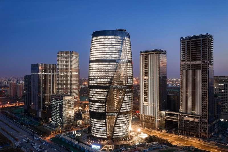 北京麗澤SOHO。(圖片來源:維基百科)