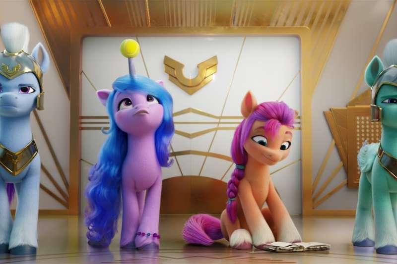 《彩虹小馬:活力新生代》CGI動畫大電影 全新角色閃亮登場。(圖/業者提供)
