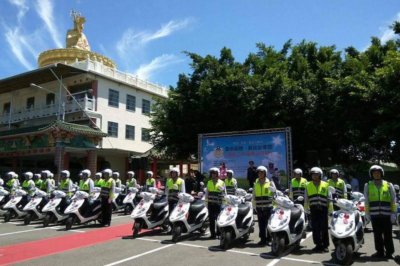 高雄市長陳其邁全力照顧員警,積極打造高雄成為「幸福宜居的安全城市」。(圖/高市府提供)