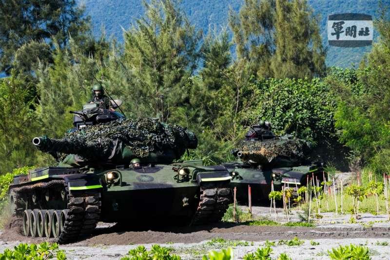 20210917-二戰區M60A3戰車灘岸反擊 (取自軍聞社)