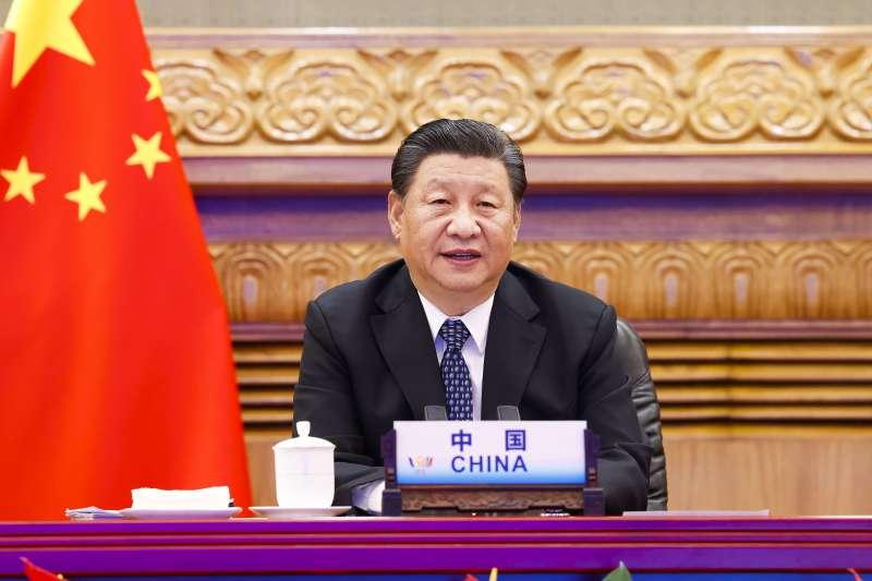 2021年9月,中國國家主席習近平出席金磚國家峰會(AP)
