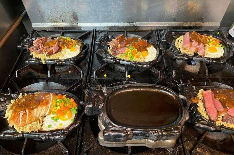 雙橡園主廚高于婷以「台式牛排」招待外賓,引發熱議。(取自謝欣霓臉書)
