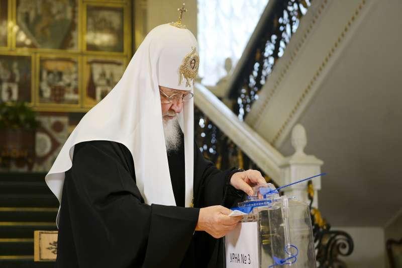 2021年9月17日,俄羅斯「國家杜馬」(國會下議院,State Duma)選舉投票登場(AP)