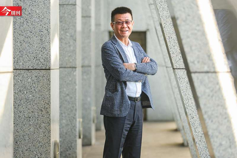 邱森彬接任光寶總經理一週年,積極推動公司轉型,創下有史以來上半年最佳成績。(攝影/唐紹航)