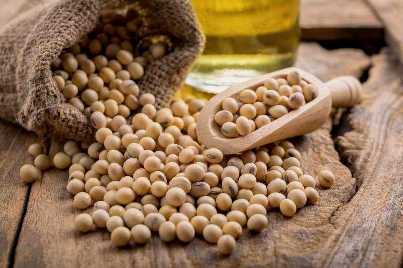 黃豆具必需胺基酸,是有最佳的蛋白質來源(圖片來源:shutterstock)