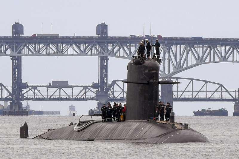 法國海軍的紅寶石級(Rubis-class)核動力潛艦「水晶號」(Améthyste、舷號S605)