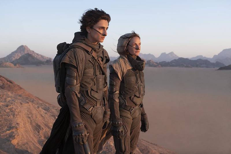 《沙丘》(Dune)電影中史詩級的宇宙觀及畫面,獲得許多網友好評。(圖/取自IMDB)