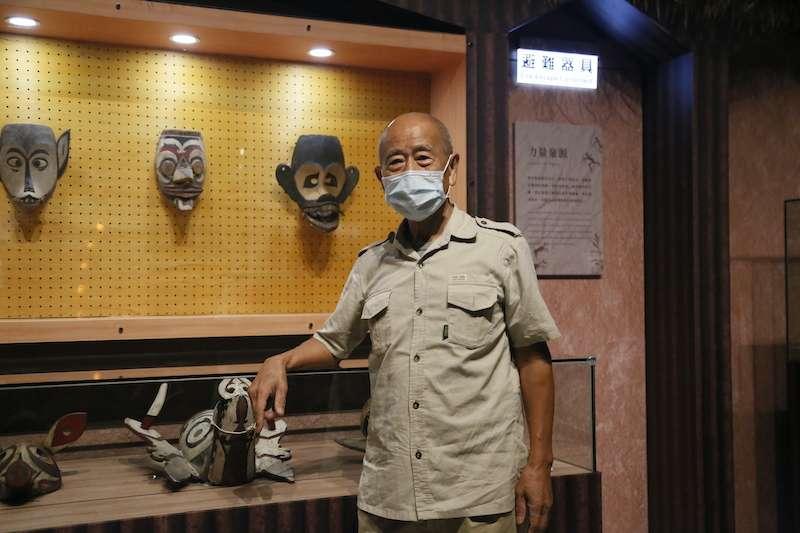 十三行博物館與國際知名藝術家吳炫三合作,推出「面面具到-部落面具文化特展」。(圖/新北市十三行博物館提供)