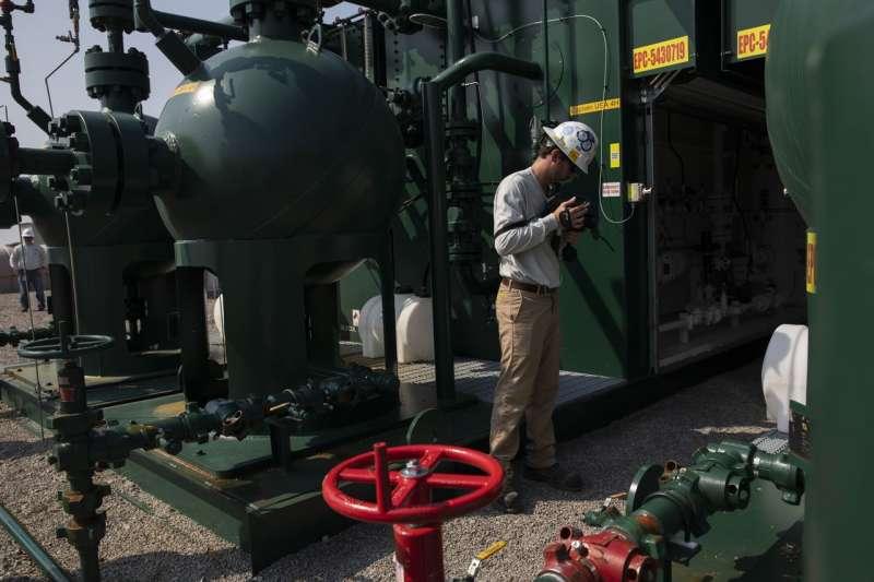美國賓州的一個天然氣生產基地。(圖片來源:The Wall Street Journal)