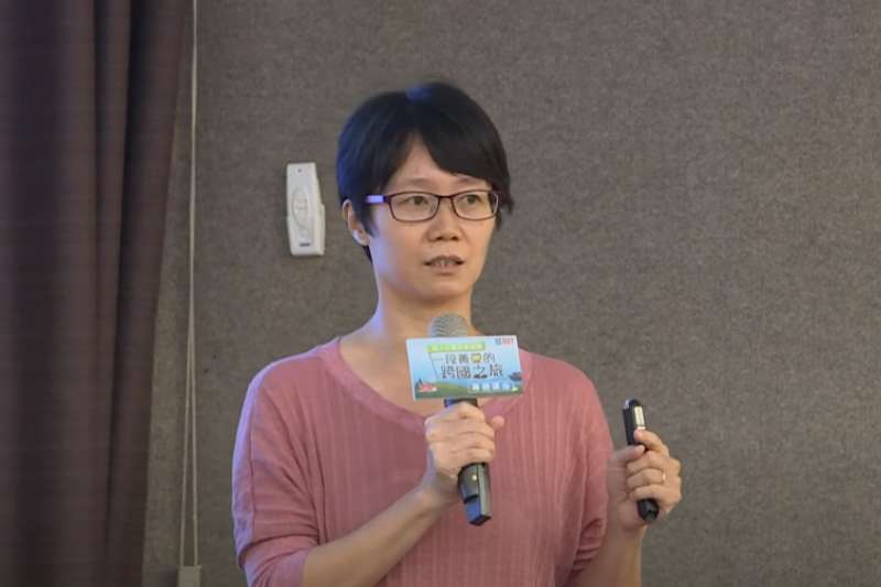 林奐妤博士表示只要是可以販賣的基改食品,都必須經過安全性評估(圖片來源:美國黃豆出口協會)