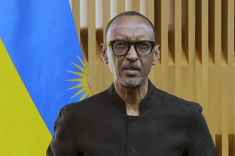 2021年,盧安達總統卡加梅(Paul Kagame)(AP)