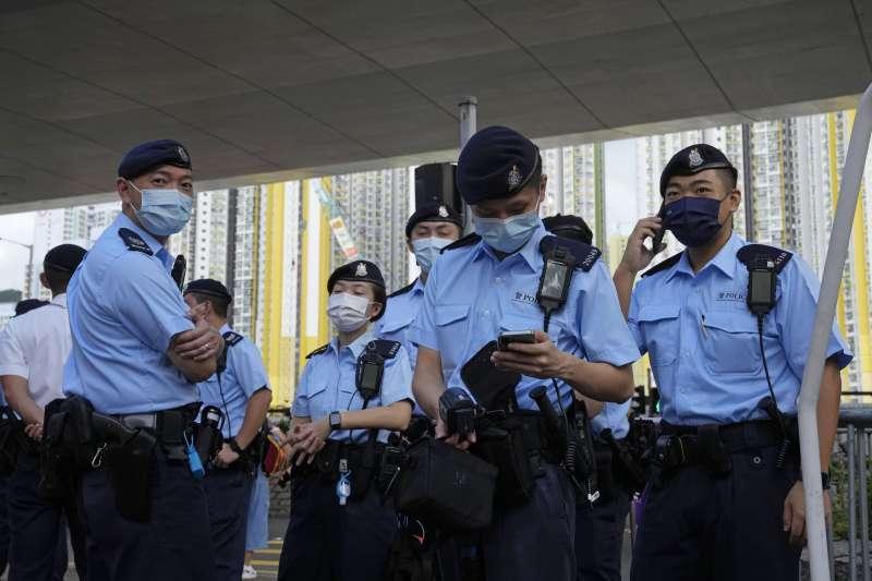 香港,警察治國(AP)