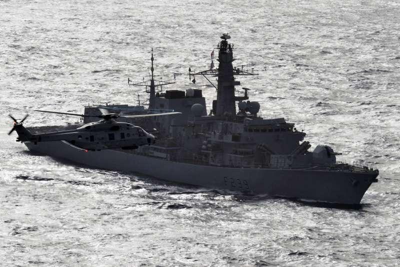 英國皇家海軍「里奇蒙號」(Gaz Weatherston@Wikipedia /OGL v1.0)