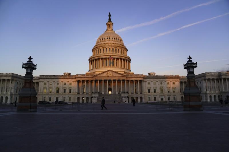 美國國會。(AP)