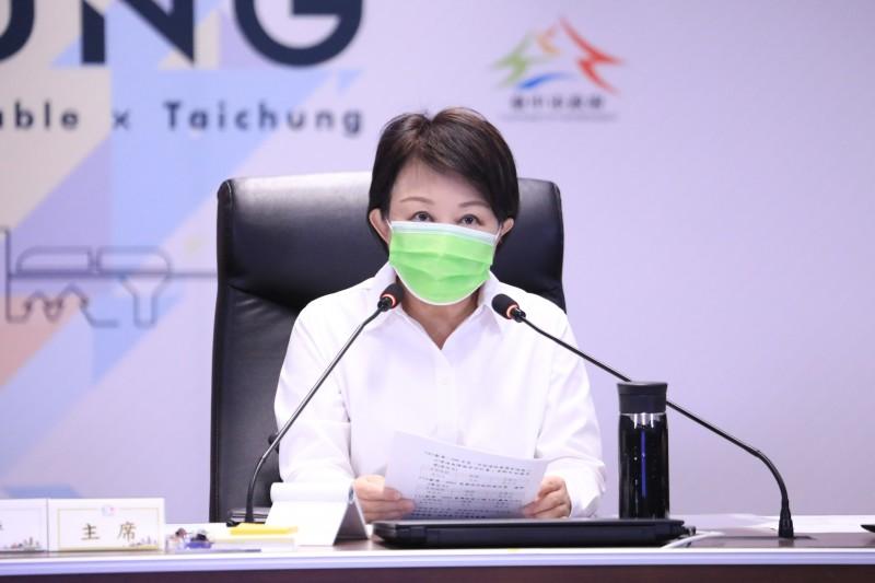 台中市長盧秀燕(見圖)好感度突破70%,讓《美麗島電子報》董事長吳子嘉認為地方選區派系可能都要向她投降。(資料照,台中市政府)