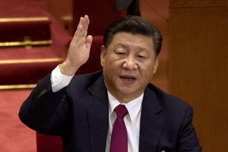 10月9日北京舉行「紀念辛亥革命110周年大會」,中共總書記除了對台發動「和統」攻勢,也在宣示占據辛亥革命「繼承權」(AP)