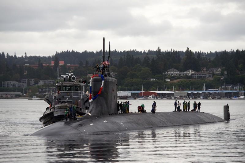 美軍海狼級核動力攻擊潛艦「海狼號」。(美國海軍官網)