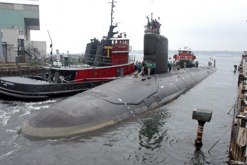 2021年10月,美國海軍工程師托比與妻子戴安娜(Jonathan and Diana Toebbe)涉嫌為外國政府竊取核子潛艦機密(AP)