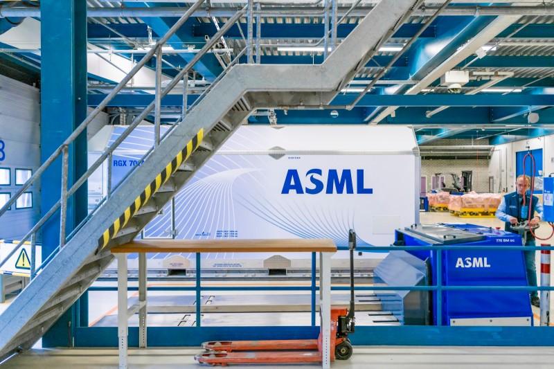 自主半導體製造帶動ASML設備需求,股價有上漲空間。(圖片來源:ASML)