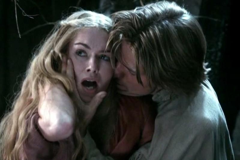 HBO影集《權力遊戲》有許多露骨的性暴力場景,讓原作者喬治.馬汀備受爭議。(取自網路)