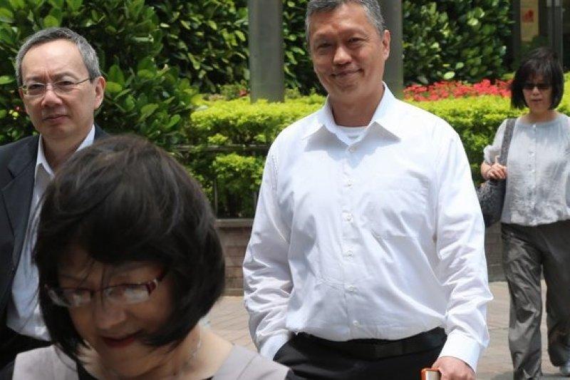 勞動部長潘世偉已簽公文,5月底勞保年金可依物價指數上漲,將有6萬9千人受惠。(吳逸驊攝)