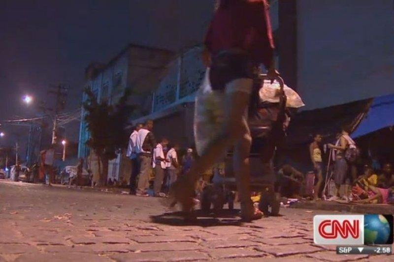 里約的古柯鹼區的游移者,正為毒癮而不可自拔(取自網路)
