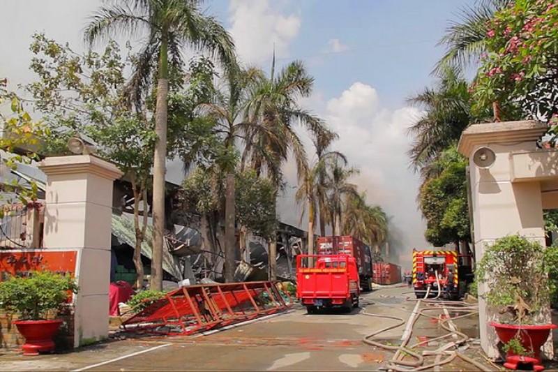 越南排華暴動重創台商,據傳18日還會發動大規模示威,我方研判中國有可能會提升戰備。(美聯社)