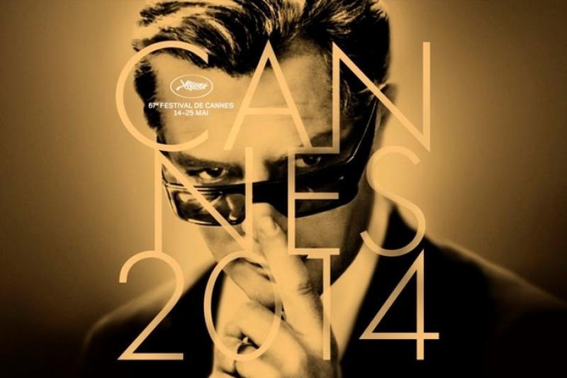 今年的坎城影展以義大利經典電影《8½》男主角馬切洛馬斯楚安尼劇照作為主題海報(取自網路)