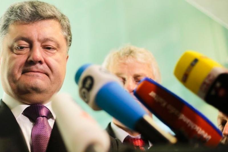 烏克蘭總統候選人波洛申科(美聯社)