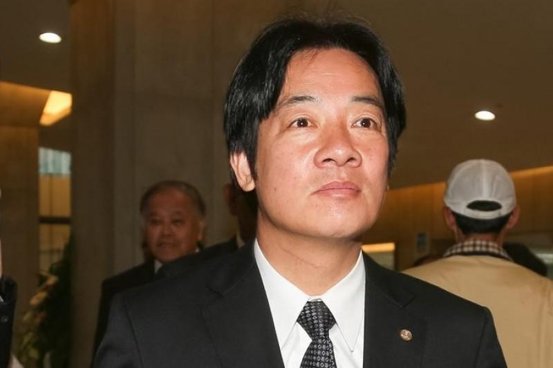 台南市長賴清德20日否決公投解決南鐵爭議。(余志偉攝)