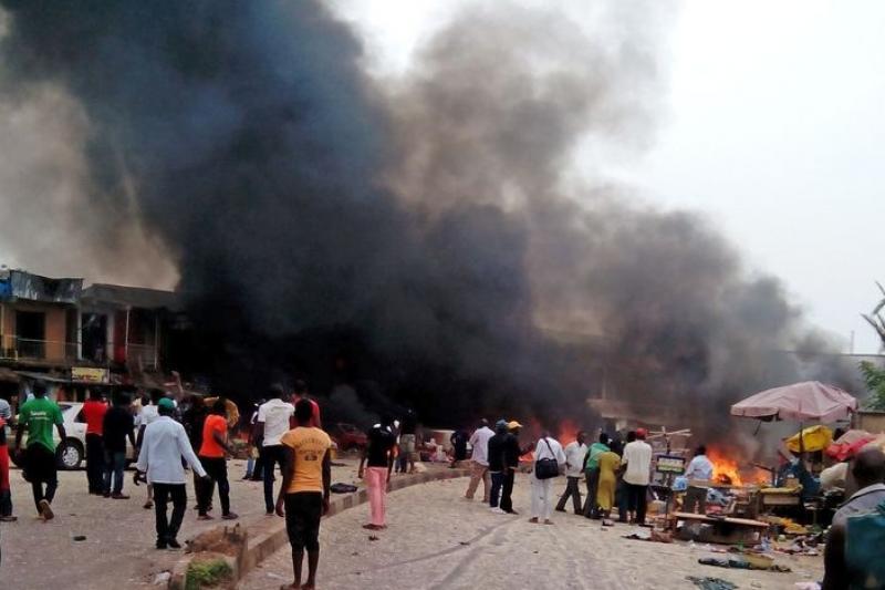 無視惡行引發眾怒,博科哈蘭20日再次發動攻擊。(美聯社)
