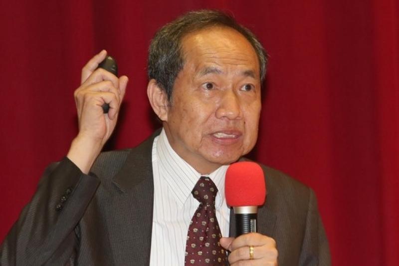 台大教授陳博志批評自經區條例,形同是稅制一國兩制,非常不公平。(資料照片,吳逸驊攝)