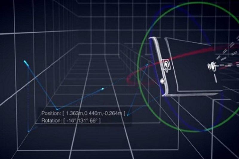 Google計畫產製裝備頂尖3D影像感測技術的平板裝置(取自YouTube)