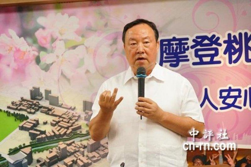 桃園縣副縣長葉世文被爆收取回扣,台北地檢署今日對葉世文辦公室及住家發動搜索。(取自中評社)