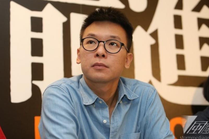 318學運領袖林飛帆表示,認識六四是台港澳中公民社會很好的串連基底。(資料照,吳逸驊攝)