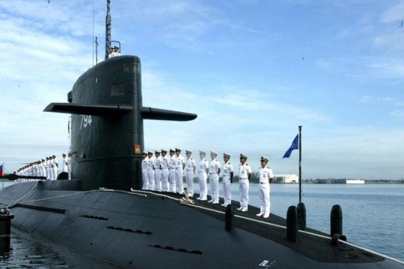 海軍以荷蘭潛艦「海龍」、「海虎」為國造潛艦藍圖。圖為海虎潛艦。(取自網路)