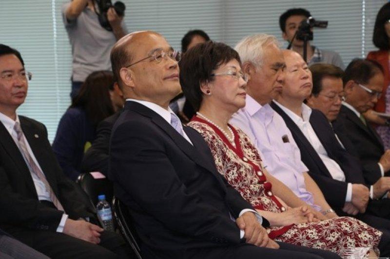 台灣心會榮譽會長張貴木中午也證實,為了襄助蔡,呂確有參選規劃,但目前僅止於參選中常委。(資料照片,余志偉攝)