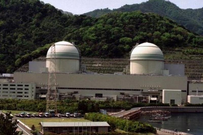 日本核能電廠二度全面停擺,圖片來源:網站