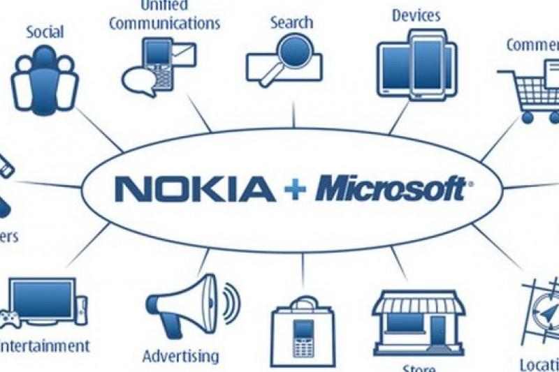 微軟買Nokia意在垂直整合(取自網路)。