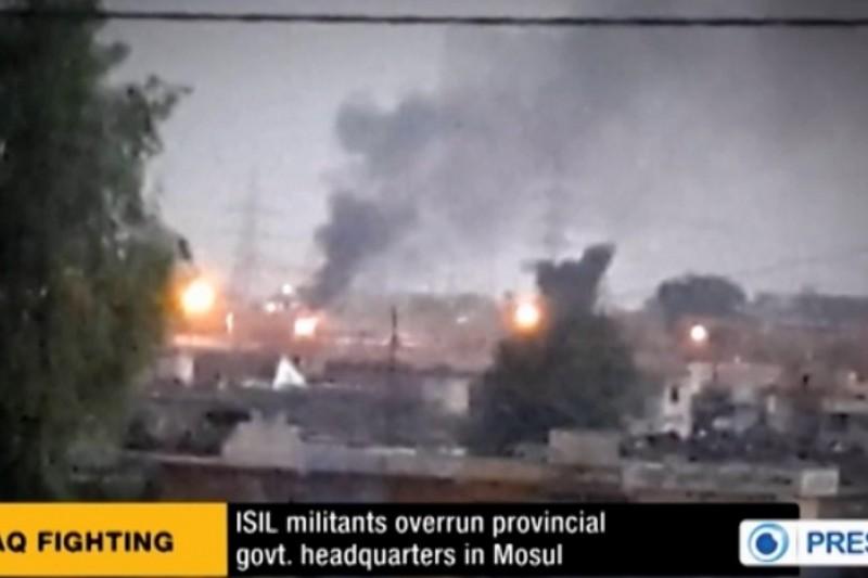 伊拉克國內局勢持續惡化,第二大城摩蘇爾淪陷。(取自網路)