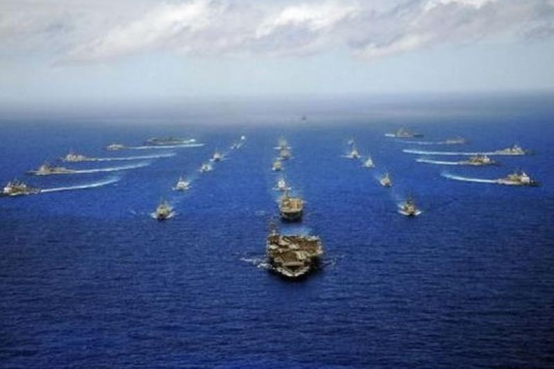 中國首次派艦參加「環太平洋2014」軍演。(取自網路)