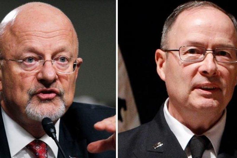NSA局長亞歷山大、克萊佩,圖片來源:網路